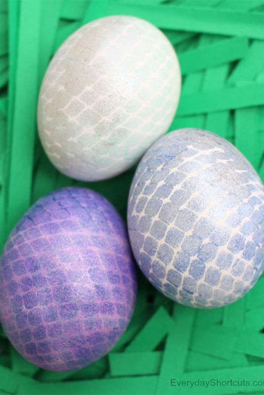 Mermaid Easter Eggs