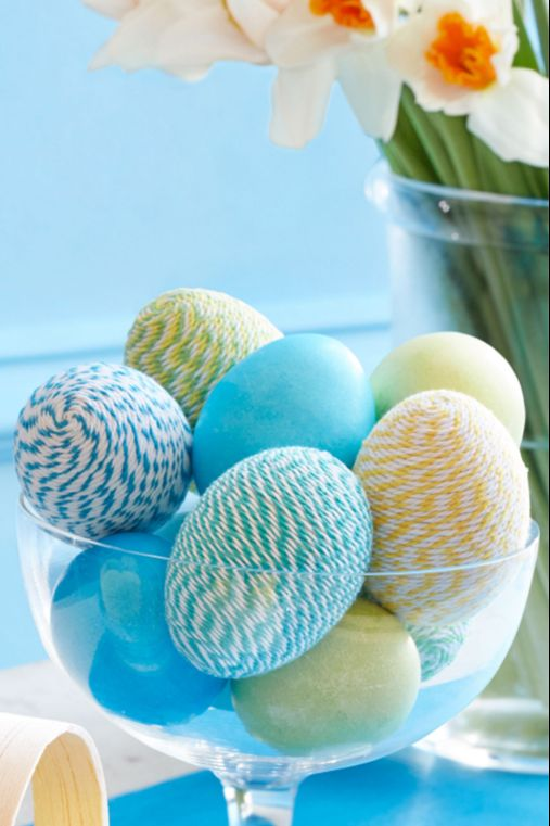 Twine- Wrapped Eggs