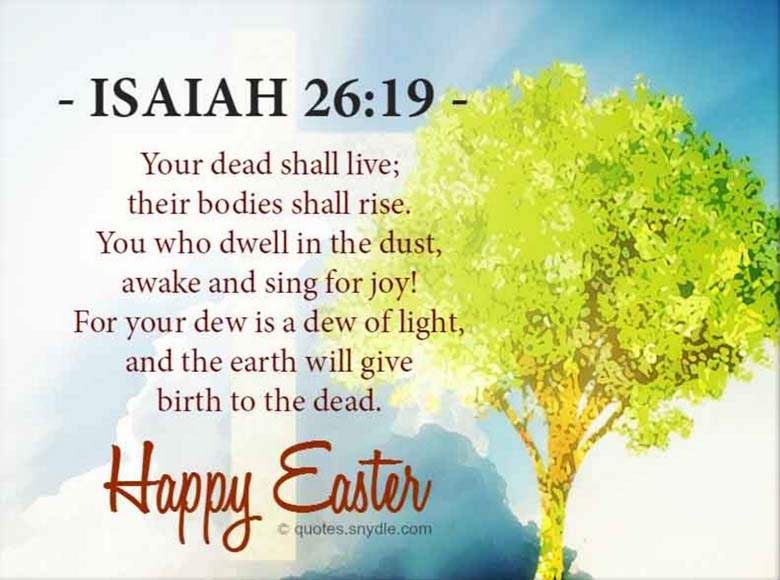 happy easter quotes